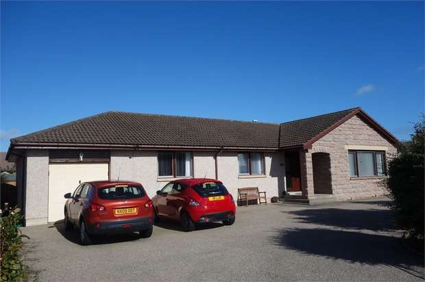 4 Bedrooms Detached Bungalow for sale in Halliman Way, Lossiemouth, Moray