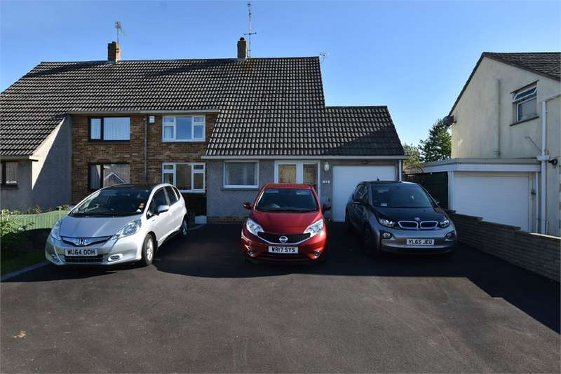 3 Bedrooms Semi Detached House for sale in Sunnymede Road, Nailsea, Bristol, North Somerset
