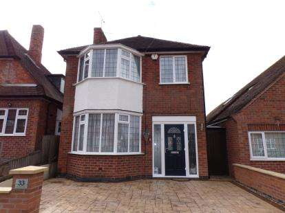 3 Bedrooms Detached House for sale in Westmeath Avenue, Leicester, Leicestershire, England
