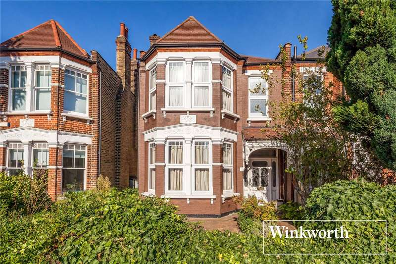 4 Bedrooms Semi Detached House for sale in Redbourne Avenue, Finchley, London, N3