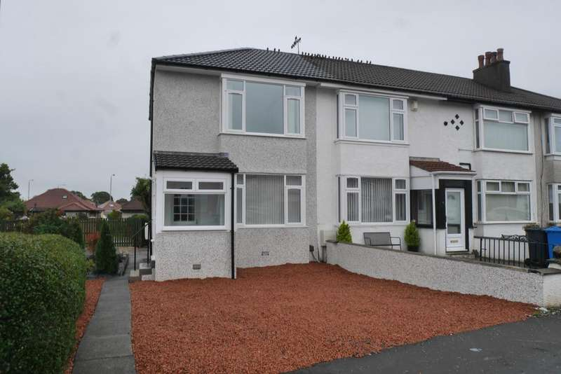 2 Bedrooms End Of Terrace House for sale in Gleniffer Drive, Barrhead G78