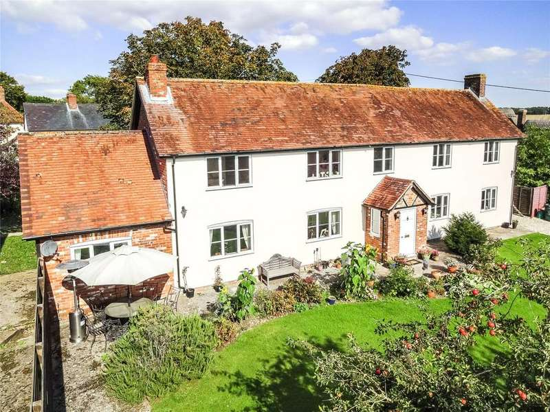 4 Bedrooms Detached House for sale in Shop Lane, Leckhampstead, Newbury, Berkshire, RG20