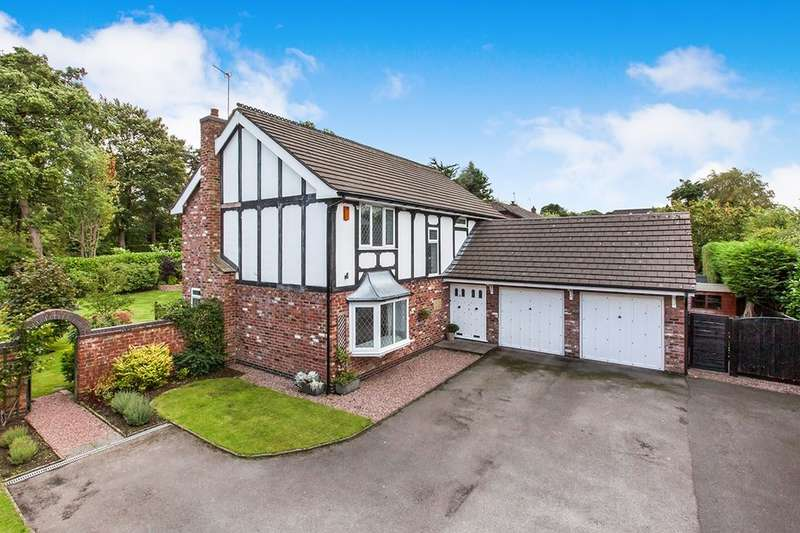 4 Bedrooms Detached House for sale in April Rise, Macclesfield, SK10