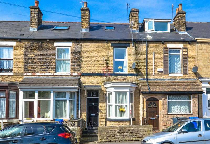4 Bedrooms Terraced House for sale in Stafford Road, Sheffield, S2