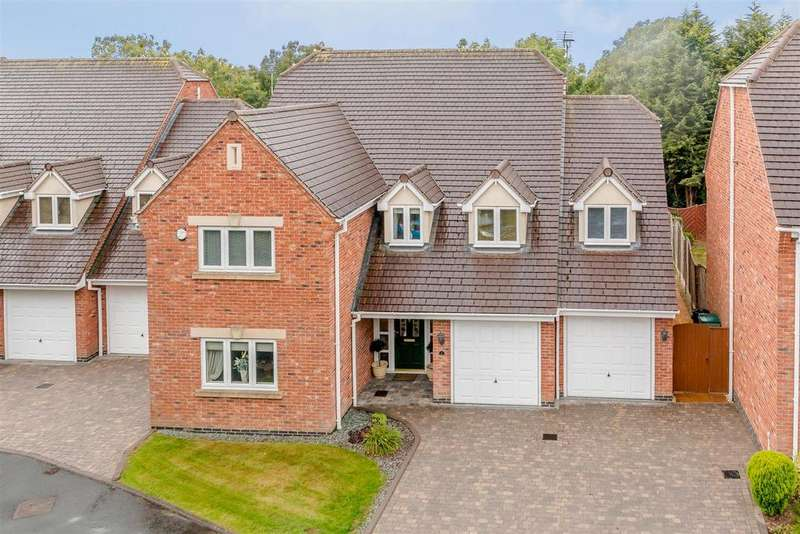 5 Bedrooms Detached House for sale in Southlands Court, Birchfield Road, Redditch