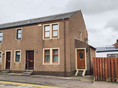 2 Bedrooms End Of Terrace House for sale in Kilmarnock Road, Mauchline