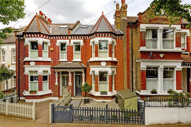 4 Bedrooms Terraced House for sale in Swanage Road, Wandsworth, London, SW18