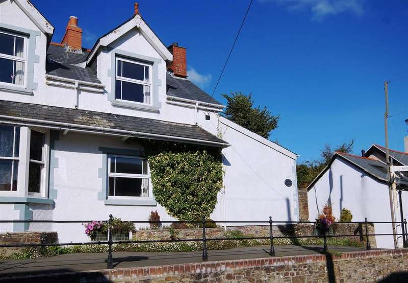 4 Bedrooms Semi Detached House for sale in Fore Street, Hartland, Bideford