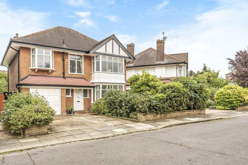 4 Bedrooms Detached House for sale in Elgar Avenue, Ealing