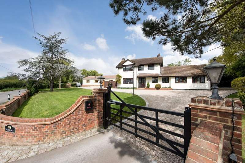 4 Bedrooms Detached House for sale in Stock Lane, Ingatestone, Essex, CM4