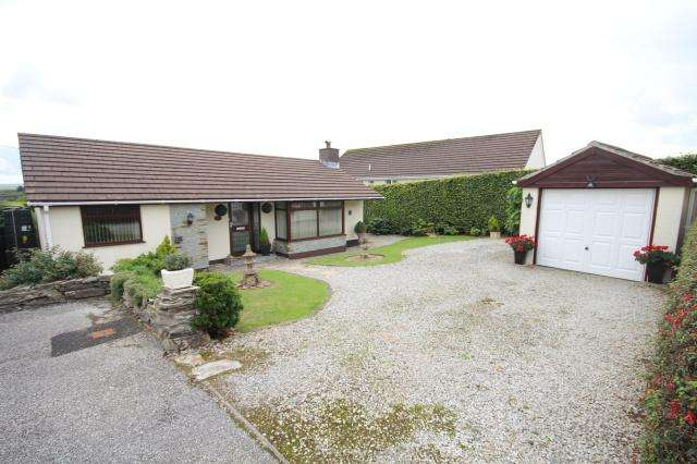 3 Bedrooms Bungalow for sale in Delabole