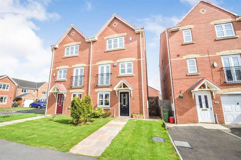 4 Bedrooms Semi Detached House for sale in Grenaby Way, Murton, Seaham, Co Durham, SR7