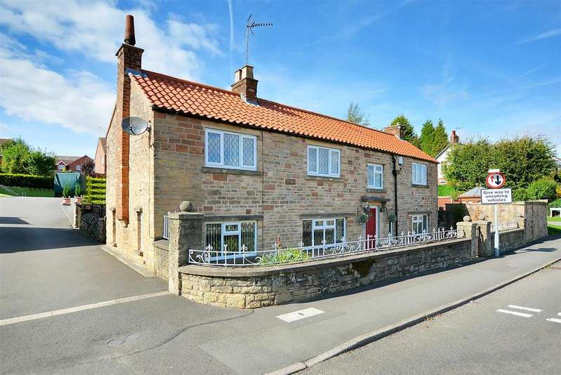 4 Bedrooms Cottage House for sale in Broom Cottage, Newboundmill Lane, Pleasley