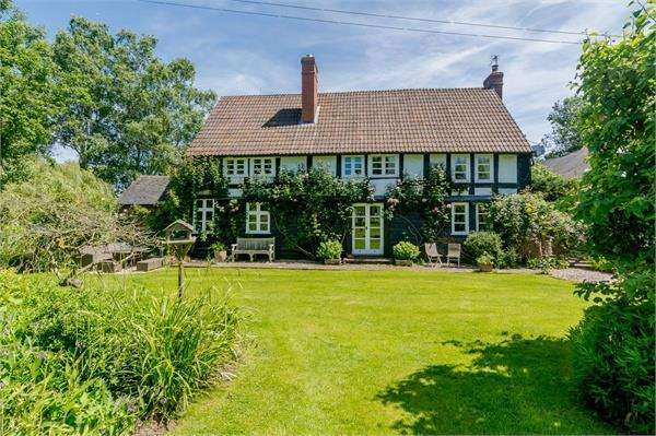 6 Bedrooms Detached House for sale in Eaton Bishop, Herefordshire