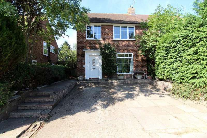 3 Bedrooms Semi Detached House for sale in Nuns Lane, St Albans, AL1