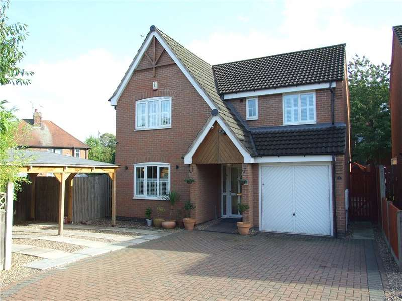 4 Bedrooms Detached House for sale in Castle Court, Heanor, Derbyshire, DE75