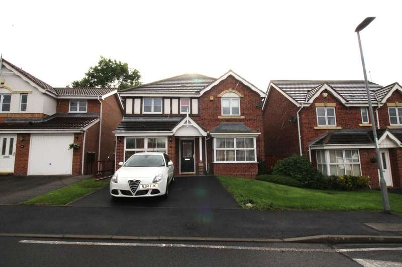 4 Bedrooms Detached House for sale in Dunkeld Close, Wardley, Gateshead, NE10