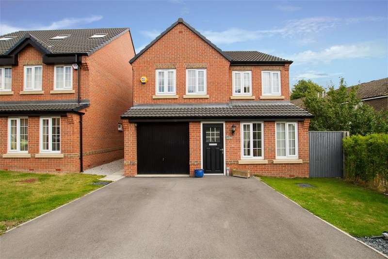 4 Bedrooms Detached House for sale in Gower Way, Rotherham