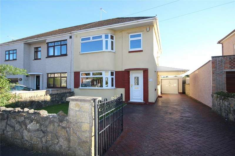 3 Bedrooms Semi Detached House for sale in Bush Avenue, Little Stoke, Bristol, BS34