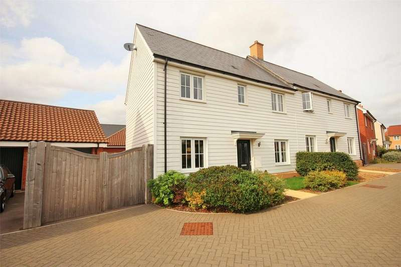 3 Bedrooms Semi Detached House for sale in Builder Gardens, Colchester, Essex
