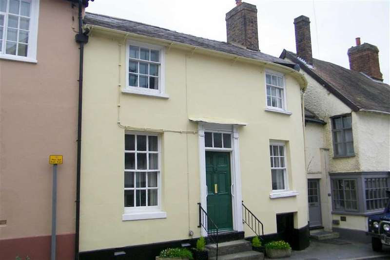 3 Bedrooms Town House for sale in Salop Street, Bishops Castle, Shropshire, SY9