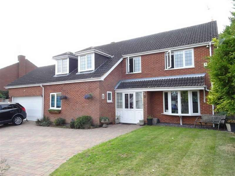 4 Bedrooms Detached House for sale in De La Bere Crescent, Burbage