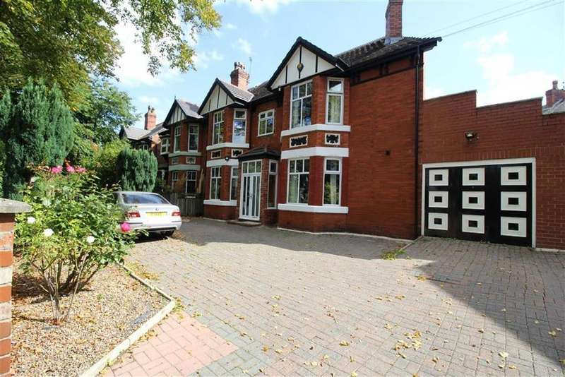 5 Bedrooms Semi Detached House for sale in Dudley Road, Whalley Range, Manchester