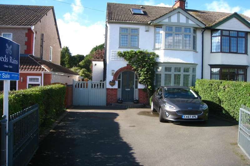 4 Bedrooms Semi Detached House for sale in Browns Lane, Allesley, Coventry, CV5