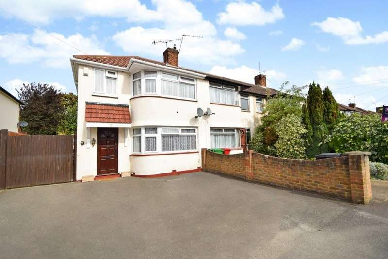 4 Bedrooms End Of Terrace House for sale in Wiltshire Avenue, Slough, SL2