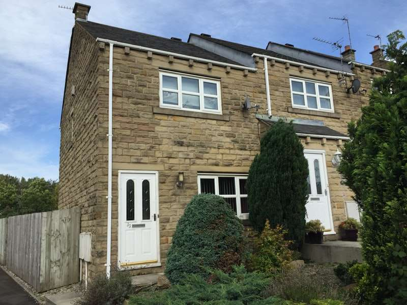 3 Bedrooms Semi Detached House for sale in Woodside Close, Oldham, Greater Manchester, OL4
