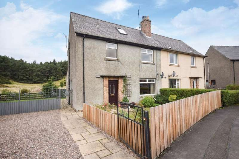 3 Bedrooms Semi Detached House for sale in Abercairney Place, Blackford, Perthshire, PH4 1QB