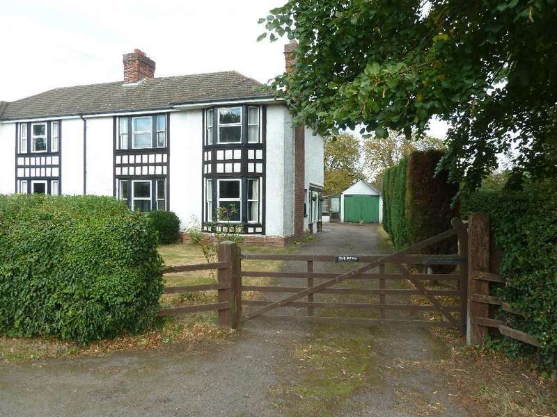 3 Bedrooms Semi Detached House for sale in Nether Broughton
