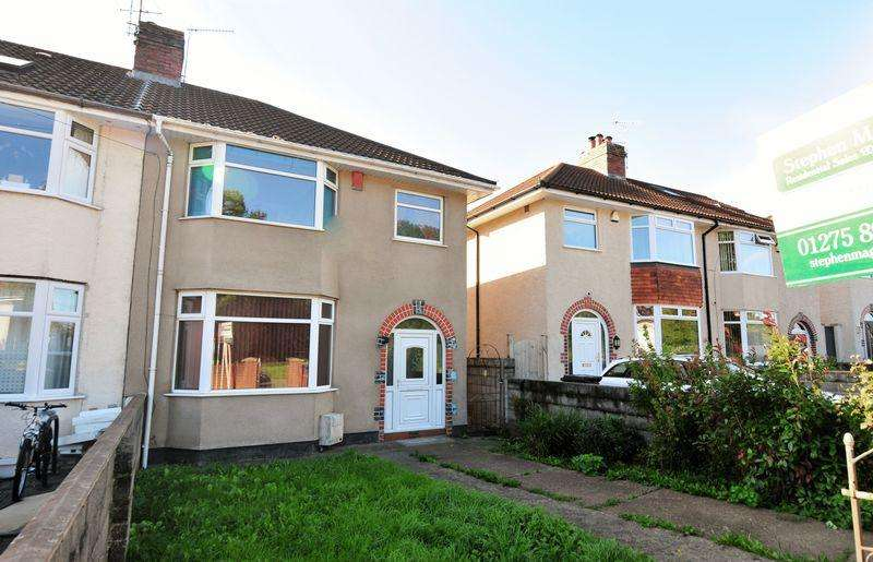 3 Bedrooms Semi Detached House for sale in Airport Road, Hengrove, Bristol, BS14