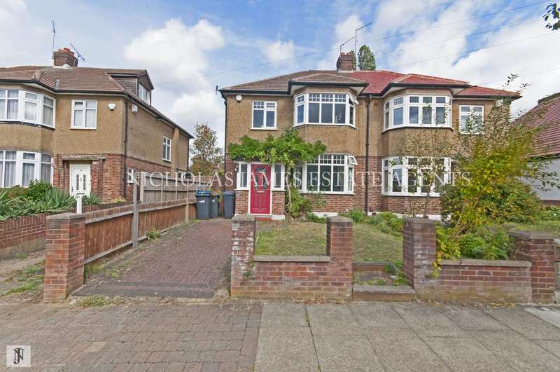 3 Bedrooms Semi Detached House for sale in Dawlish A, Palmers Green, Poyton Road, London N13