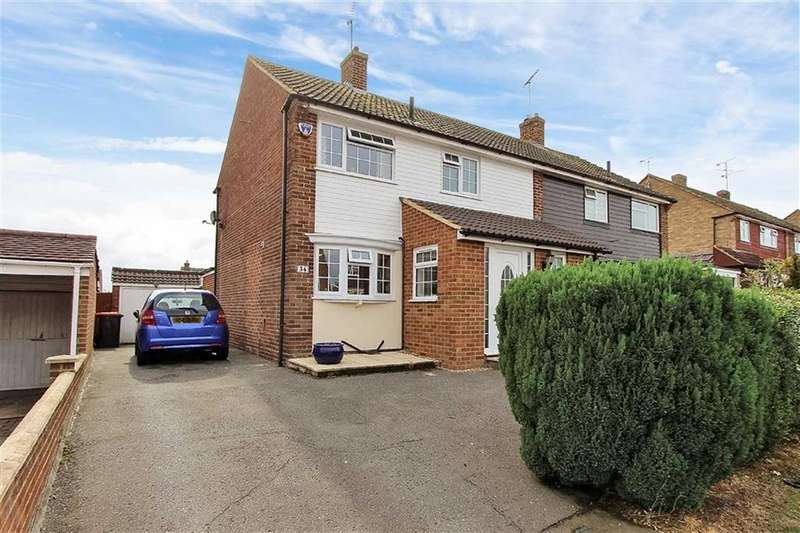 3 Bedrooms Semi Detached House for sale in Atterbury Avenue, Leighton Buzzard