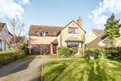 4 Bedrooms Detached House for sale in Mill Lane, Cleeve Prior, Evesham, Worcestershire