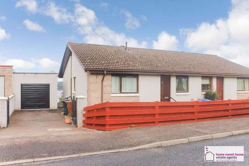 2 Bedrooms Semi Detached House for sale in Overton Avenue, Inverness, IV3 8RR