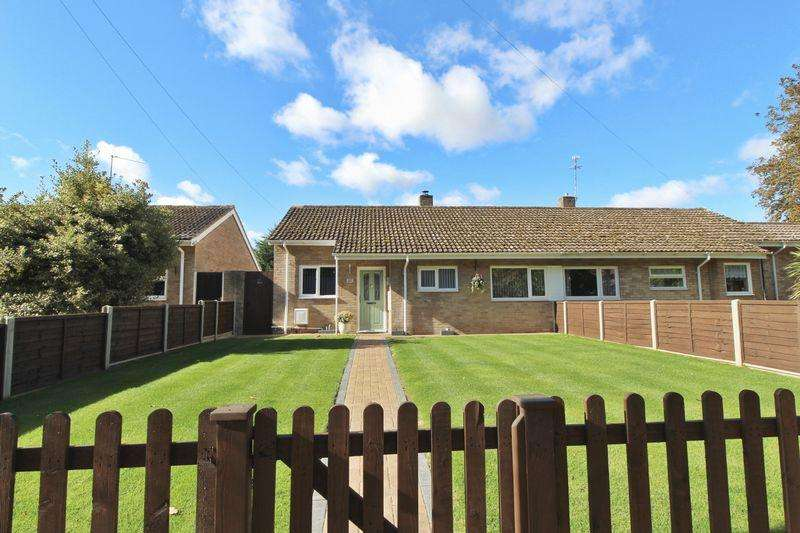 2 Bedrooms Semi Detached Bungalow for sale in Gamlingay Road, Potton