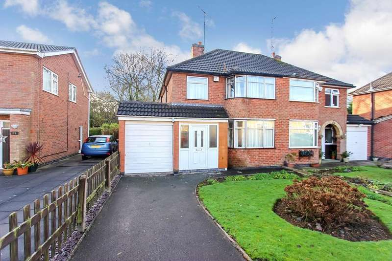 3 Bedrooms Semi Detached House for sale in Westover Road, Leicester, LE3