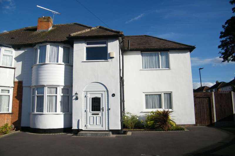 4 Bedrooms Semi Detached House for sale in Parkdale Road, Birmingham, B26