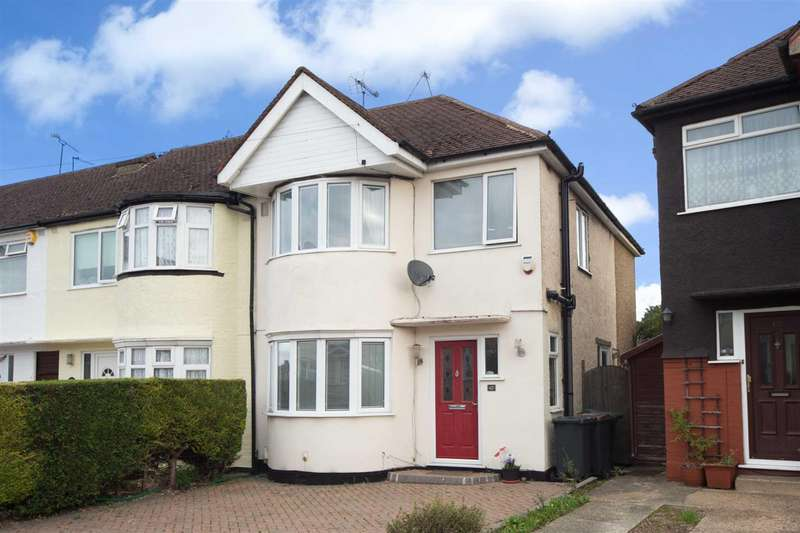 3 Bedrooms End Of Terrace House for sale in Browning Road, Luton