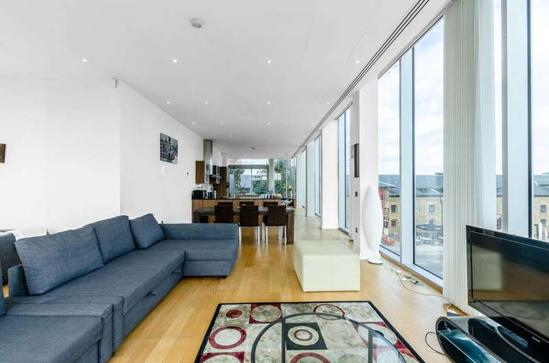 2 Bedrooms Flat for sale in Western Gateway, Docklands, E16