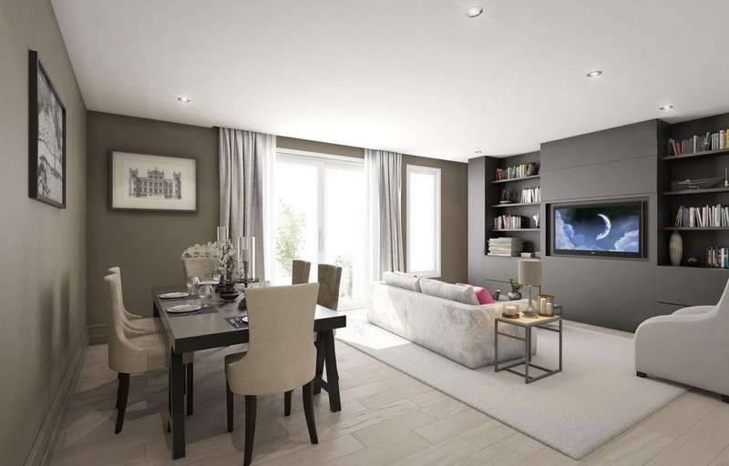4 Bedrooms Flat for sale in The Lincolns, Gray's Inn Road