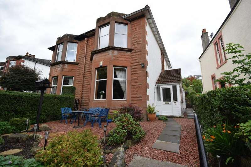 3 Bedrooms Semi-detached Villa House for sale in Florence Drive , Giffnock , Glasgow, G46 6UL