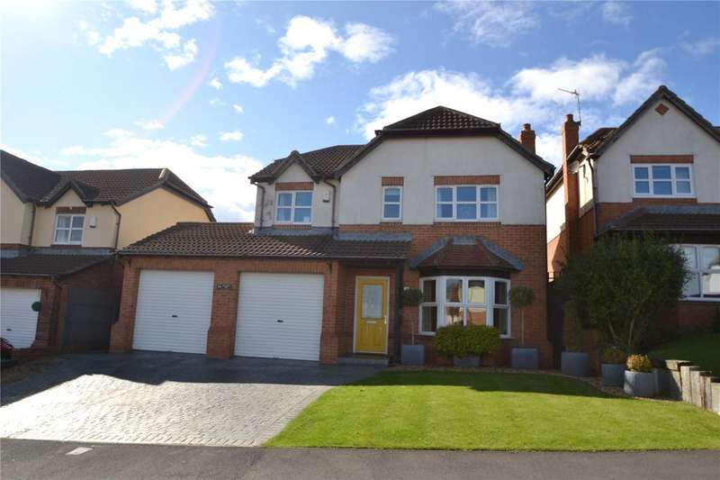 4 Bedrooms Detached House for sale in Briardene Way, Easington Colliery, Co. Durham, SR8