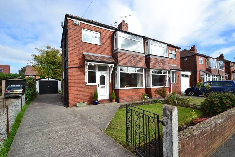 3 Bedrooms Semi Detached House for sale in Ross Avenue, Davenport, Stockport SK3 8LL