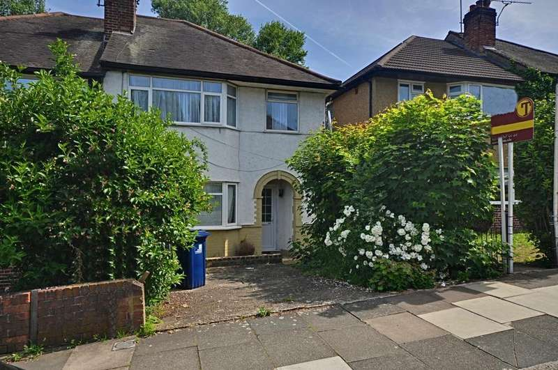 2 Bedrooms Maisonette Flat for sale in Connell Crescent, London