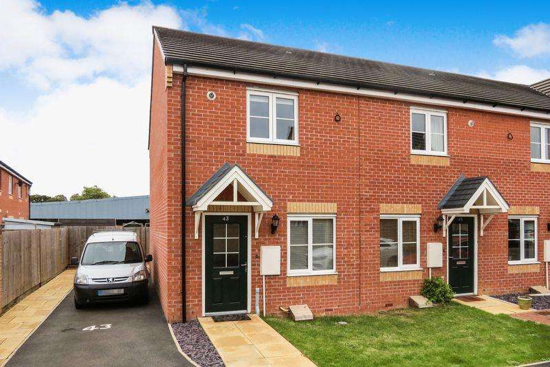 2 Bedrooms Semi Detached House for sale in Bourne