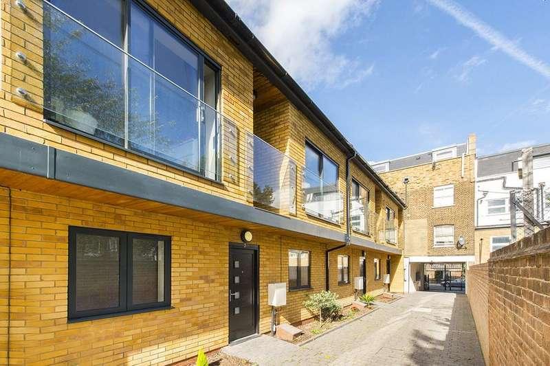 3 Bedrooms Mews House for sale in Lotus Mews, Sussex Way, Islington, London, N19