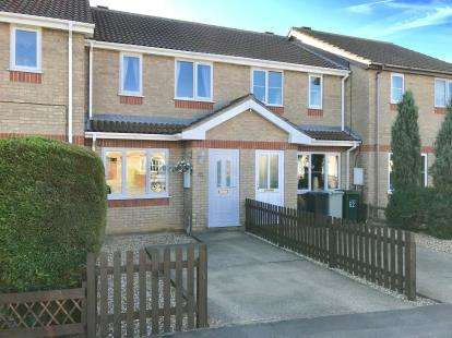 2 Bedrooms Terraced House for sale in Fulmar Drive, Louth, Lincolnshire